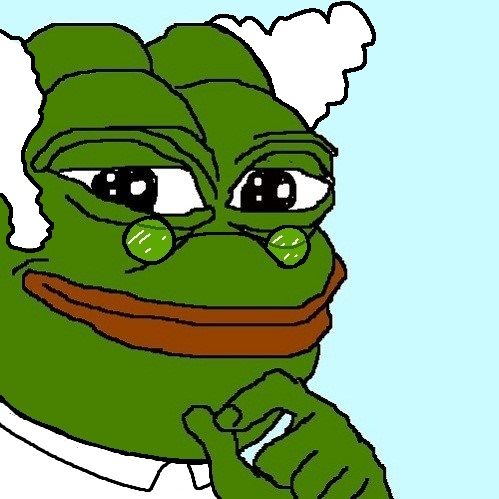 Pepe The Frog Professor