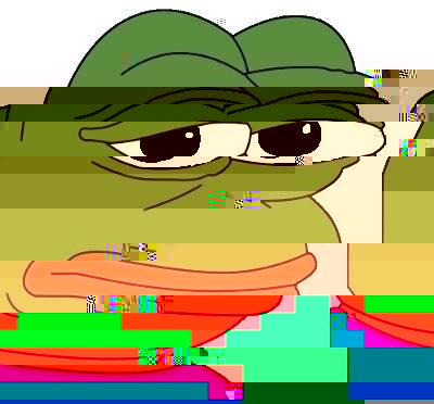 Pepe The Frog Glitch