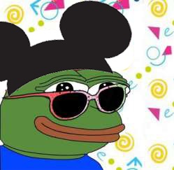 Pepe The Frog Mickey Mouse