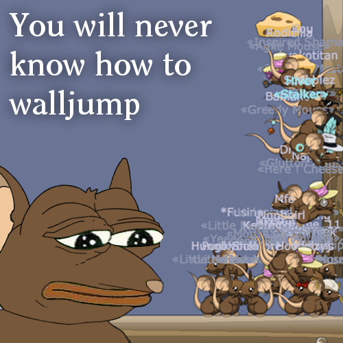 You will never know how to walljump