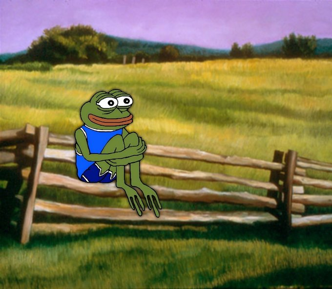 Pepe The Frog Countryside