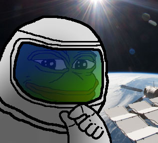 Pepe The Frog Space
