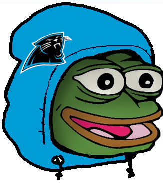 Carolina Panthers Pepe The Frog