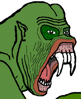 Pepe The Frog Gorilla Rage