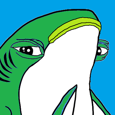 Pepe The Frog Smug Shark
