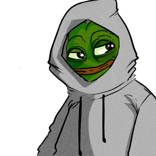 Hoodie Pepe The Frog