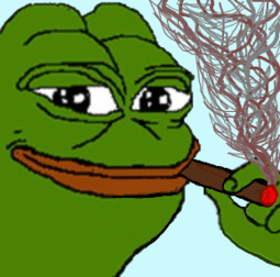 Pepe The Frog Cigare