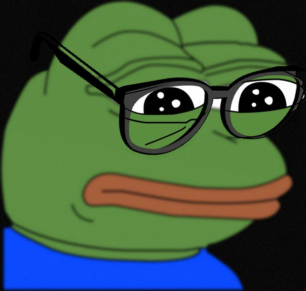 Pepe The Frog Sad nerd