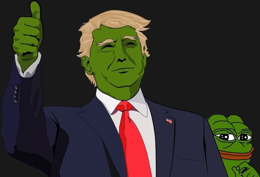 Pepe The Frog Make memes dank again