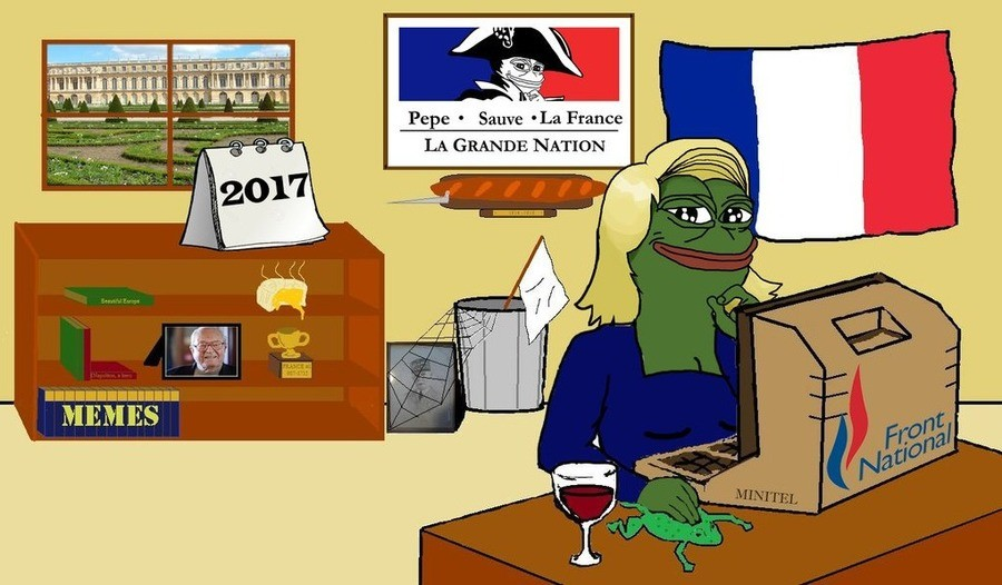 Pepe The Frog French Pepe 2017
